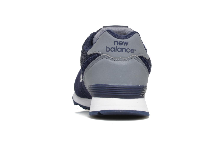 Baskets New Balance KL574 J Bleu vue droite