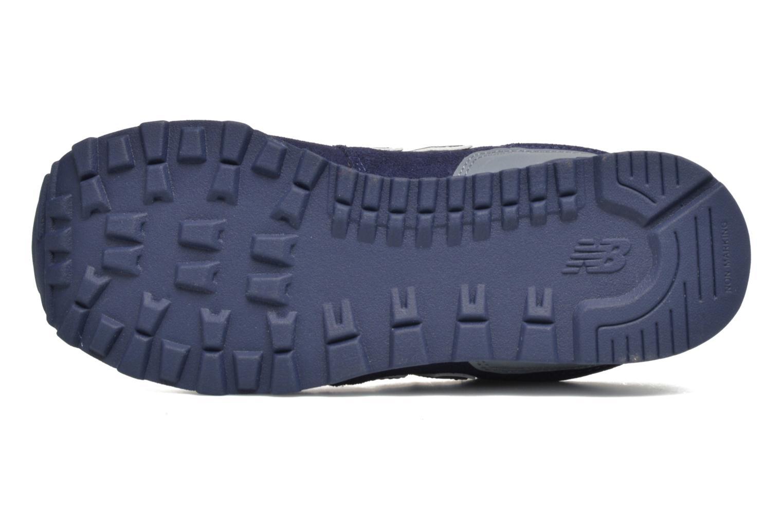 Sneaker New Balance KL574 J blau ansicht von oben