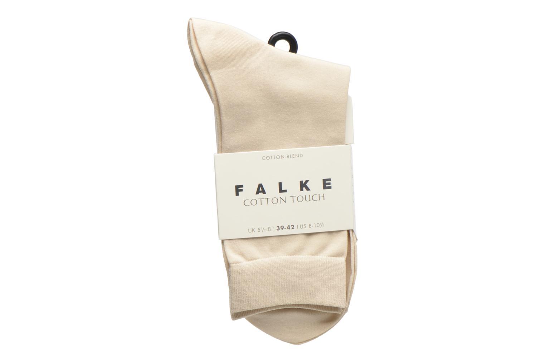 Socken & Strumpfhosen Falke Socken TOUCH beige ansicht von hinten
