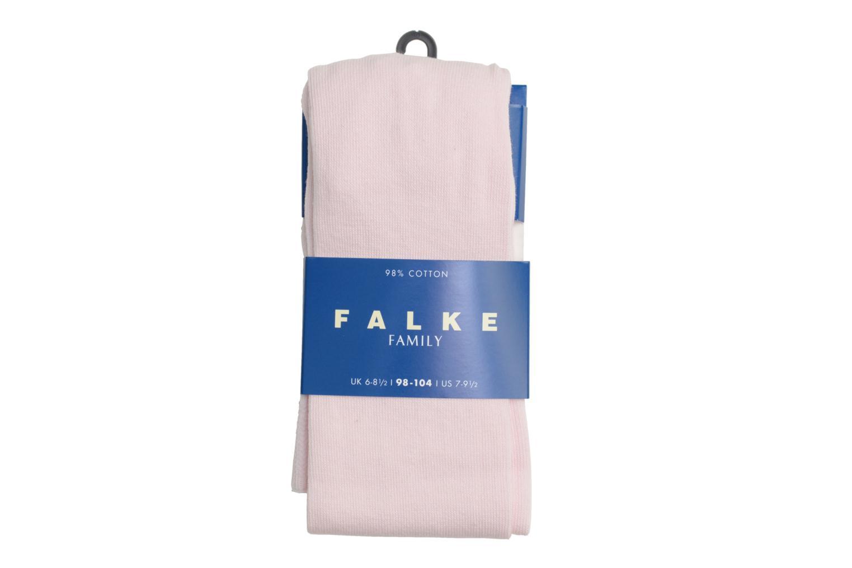 Chaussettes et collants Falke Collant FAMILY Rose vue détail/paire