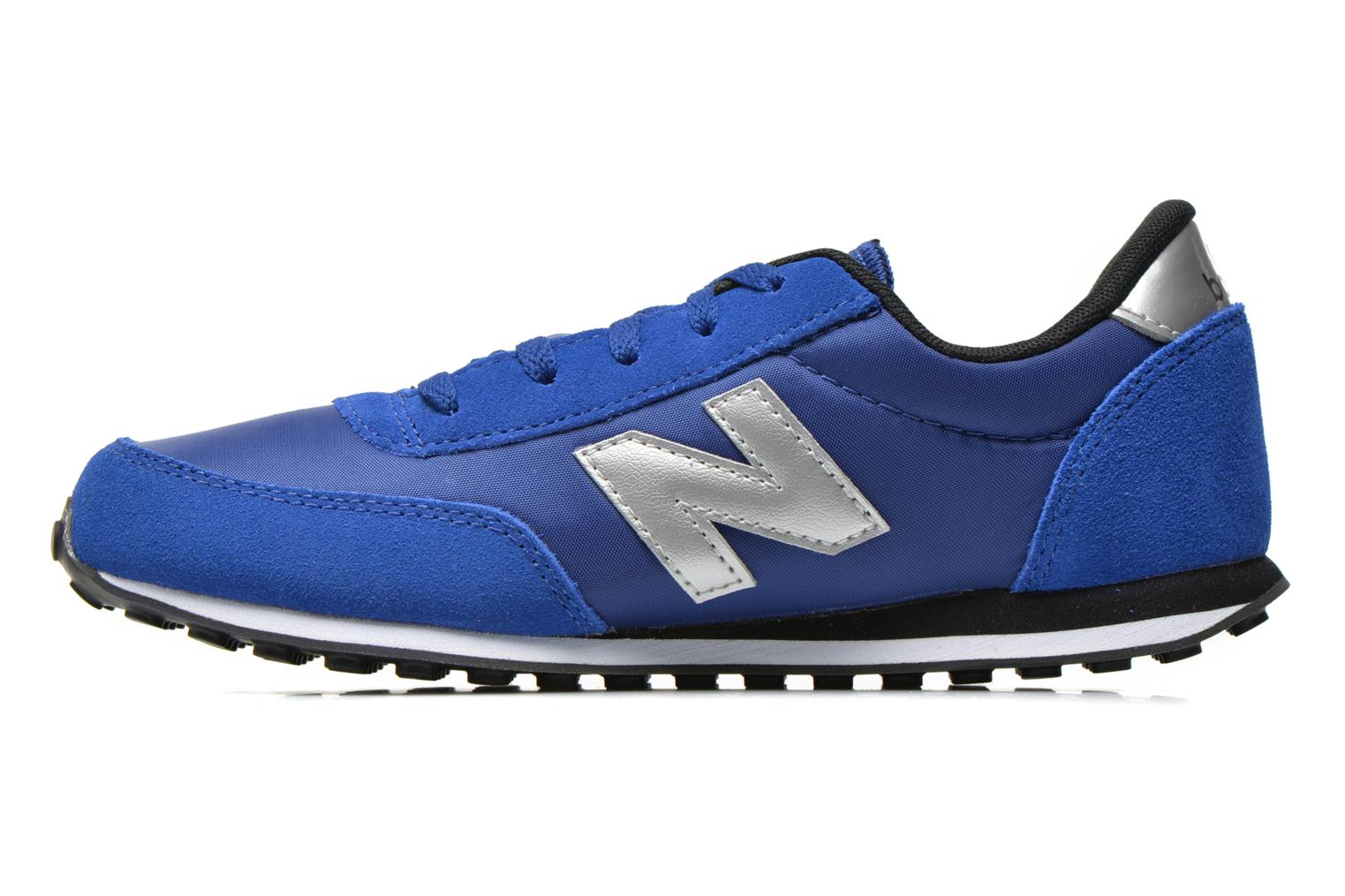 Baskets New Balance KL410 J Bleu vue face