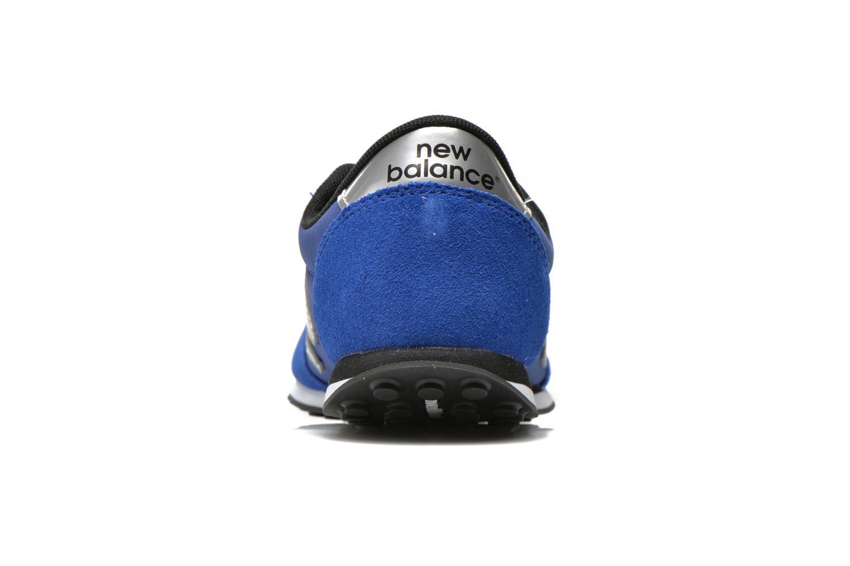 Sneaker New Balance KL410 J blau ansicht von rechts