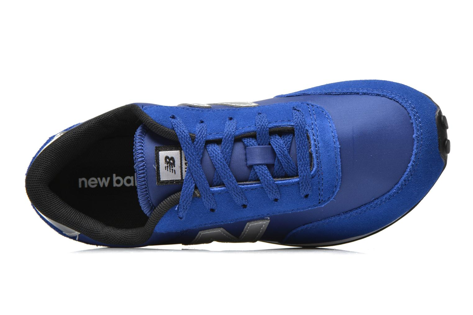 Trainers New Balance KL410 J Blue view from the left