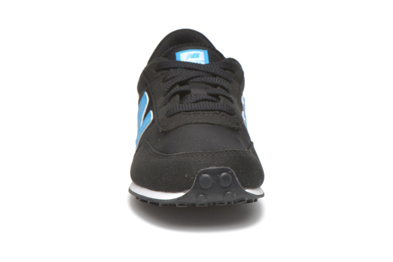 Sneaker New Balance KL410 J schwarz schuhe getragen