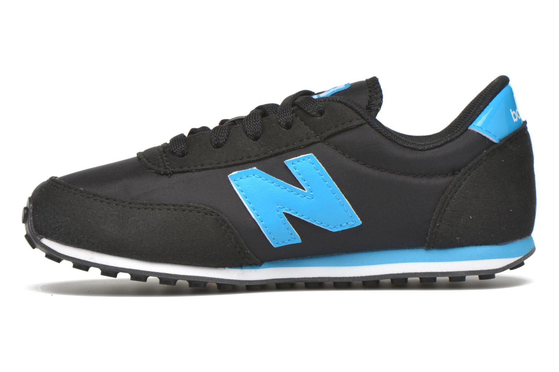 Sneaker New Balance KL410 J schwarz ansicht von vorne