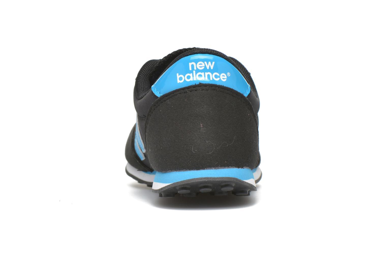 Sneaker New Balance KL410 J schwarz ansicht von rechts