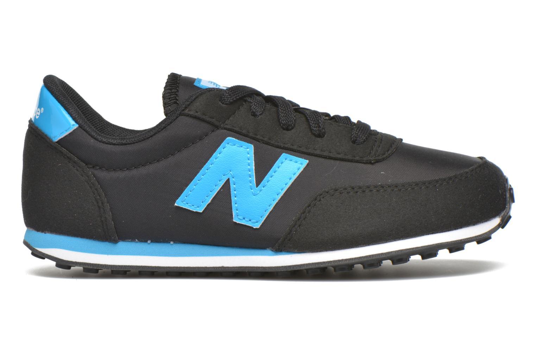 Sneaker New Balance KL410 J schwarz ansicht von hinten