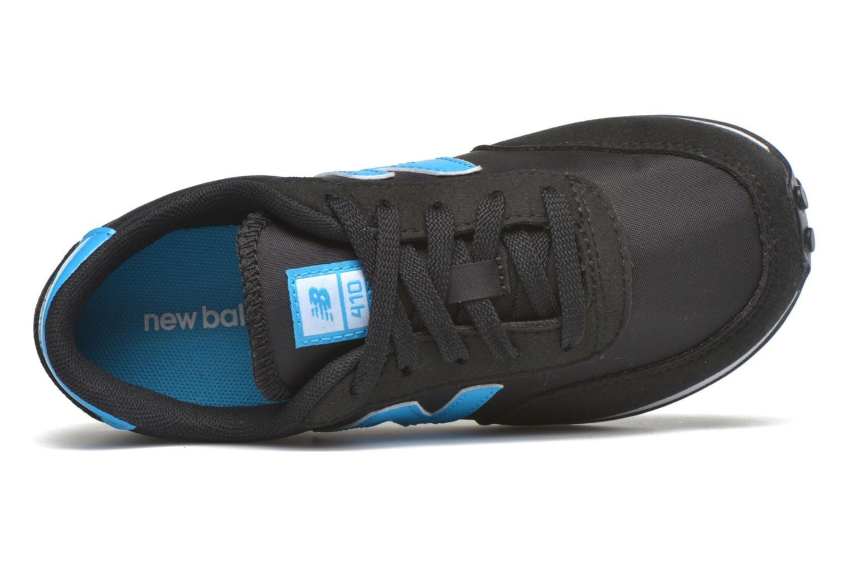 Sneaker New Balance KL410 J schwarz ansicht von links