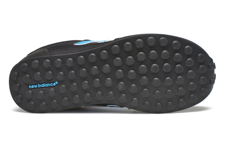 Sneaker New Balance KL410 J schwarz ansicht von oben