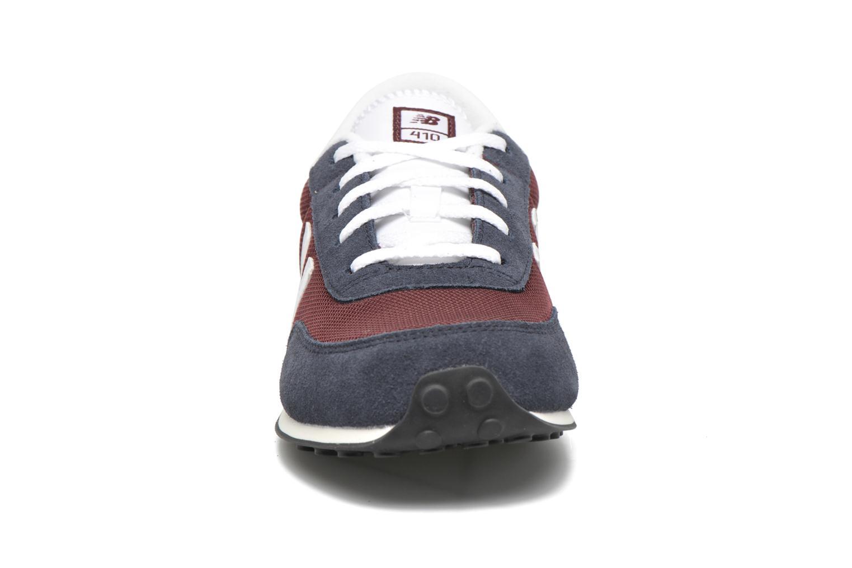 Sneaker New Balance KL410 J blau schuhe getragen