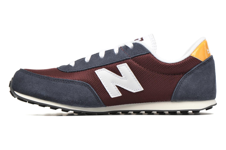 Sneaker New Balance KL410 J blau ansicht von vorne