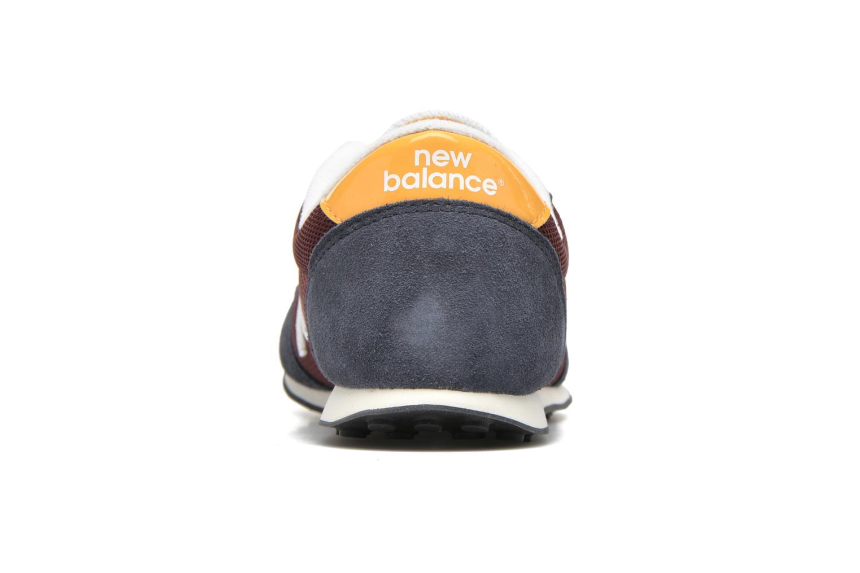 Sneakers New Balance KL410 J Blå Se fra højre