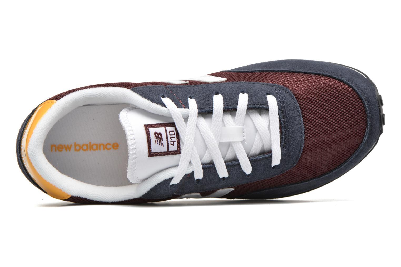 Sneakers New Balance KL410 J Blå bild från vänster sidan