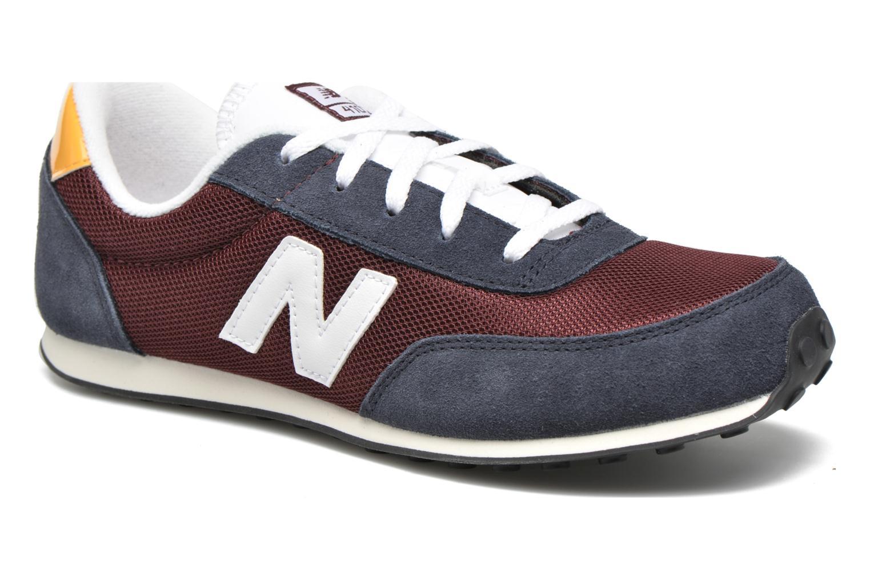 Sneakers New Balance KL410 J Blå detaljerad bild på paret