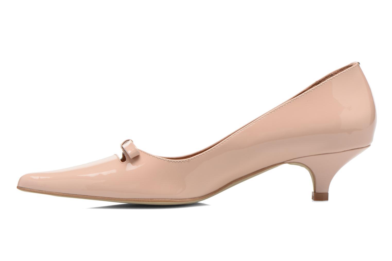 Zapatos de tacón Georgia Rose Ribote Beige vista de frente