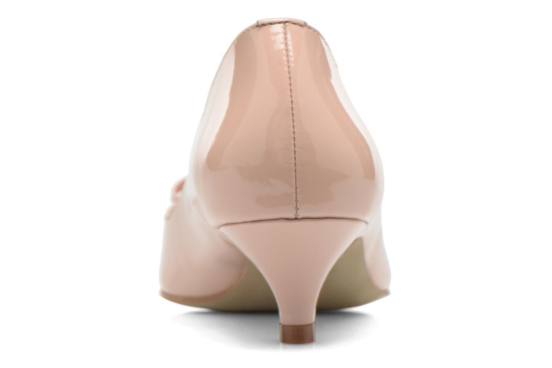 Zapatos de tacón Georgia Rose Ribote Beige vista lateral derecha