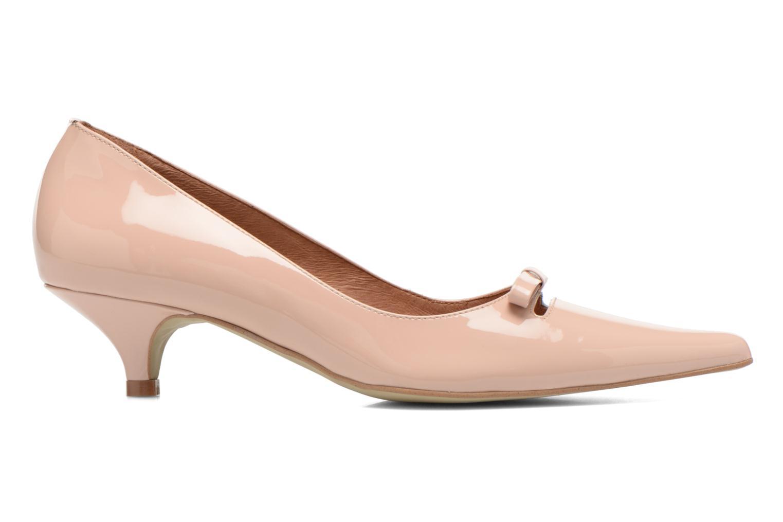 Zapatos de tacón Georgia Rose Ribote Beige vistra trasera