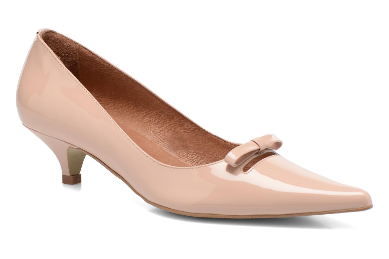 Zapatos de tacón Georgia Rose Ribote Beige vista de detalle / par