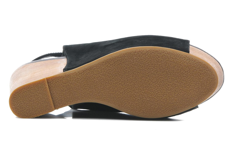 Sandales et nu-pieds Shoe the bear Cindy Noir vue haut