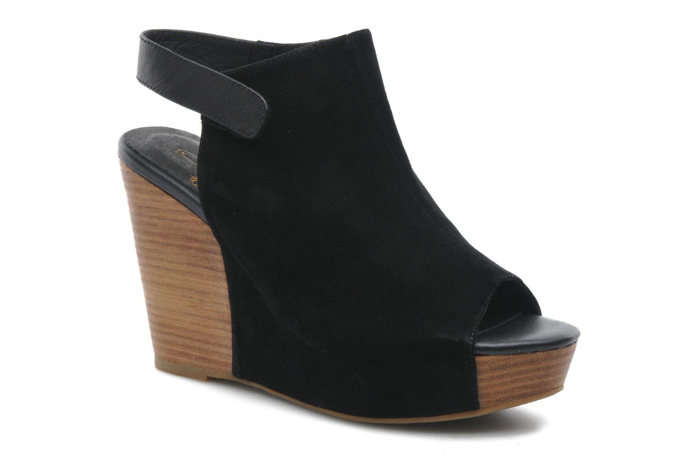 Sandales et nu-pieds Shoe the bear Cindy Noir vue détail/paire