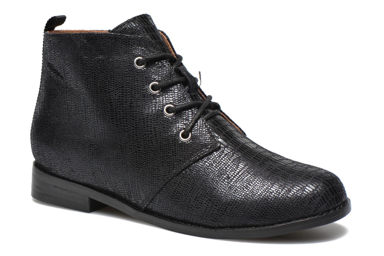 Ankelstøvler Mellow Yellow Mntazelin Sort detaljeret billede af skoene