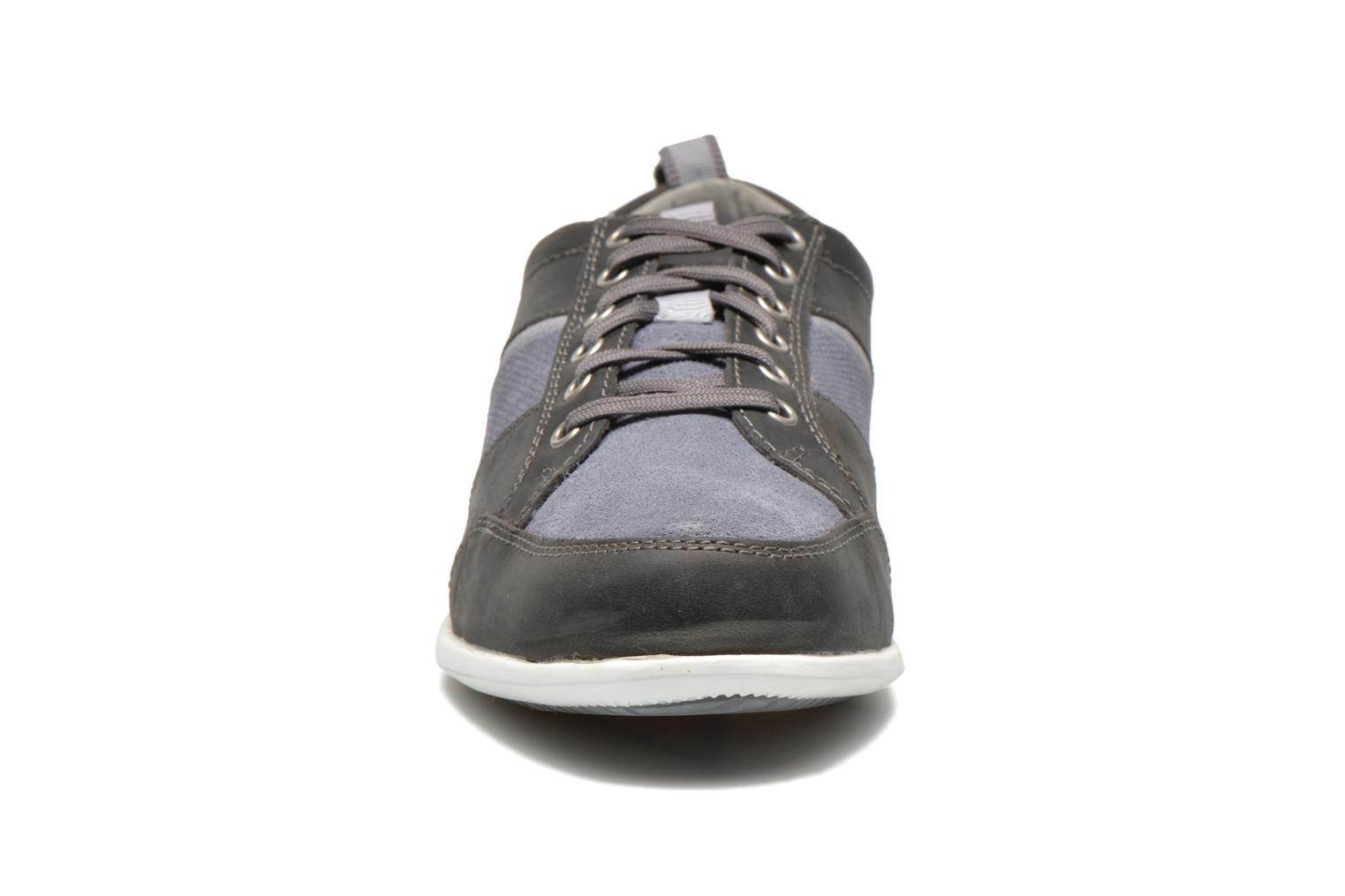 Trainers Timberland Burnettsville Oxford Grey model view