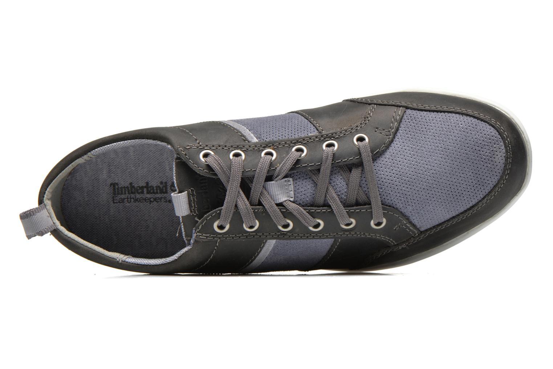 Sneaker Timberland Burnettsville Oxford grau ansicht von links