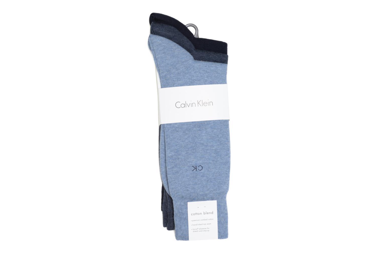 Chaussettes BASICS Pack de 3 F47 DENIM