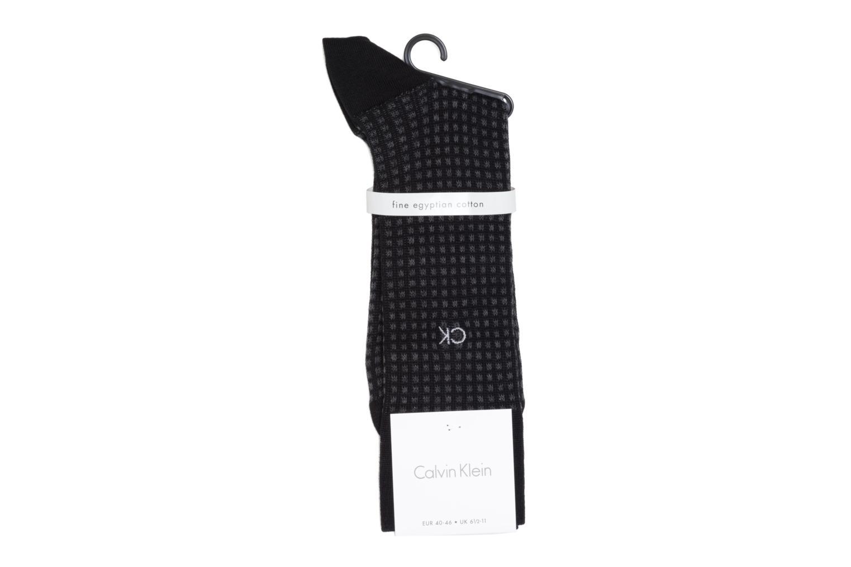 Socks & tights Calvin Klein Socks SQUARES Black model view