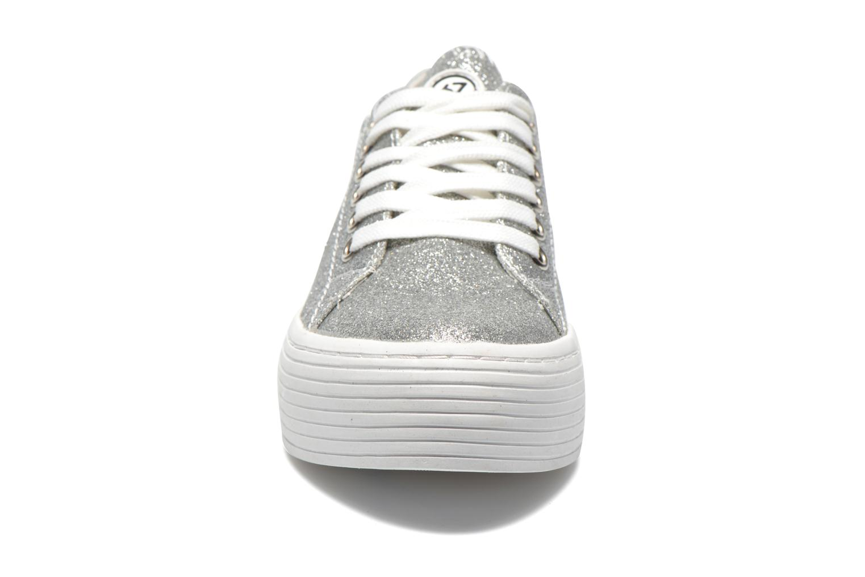 Baskets Sixty Seven Miou Argent vue portées chaussures
