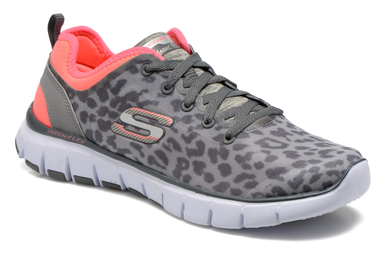 Grandes descuentos últimos zapatos Skechers Skech-Flex Power Player 12131 (Gris) - Zapatillas de deporte Descuento