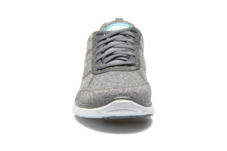 Chaussures de sport Skechers Flex Appeal Hollywood Hills 12199 Gris vue portées chaussures