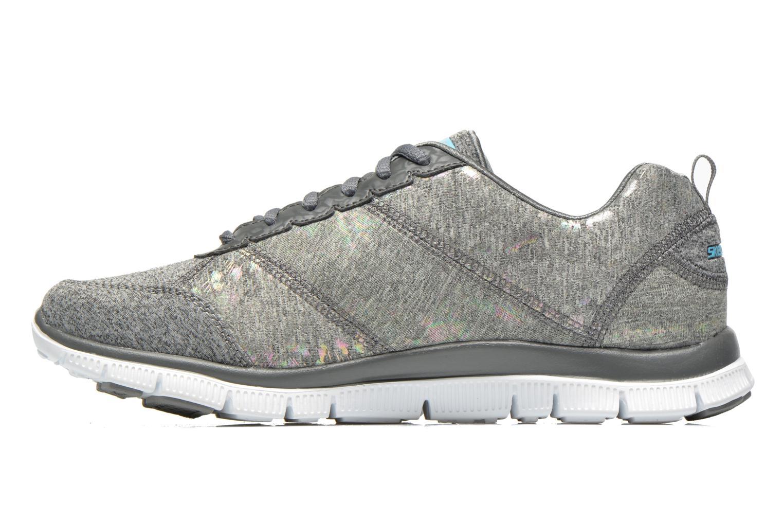 Chaussures de sport Skechers Flex Appeal Hollywood Hills 12199 Gris vue face