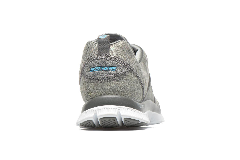 Chaussures de sport Skechers Flex Appeal Hollywood Hills 12199 Gris vue droite
