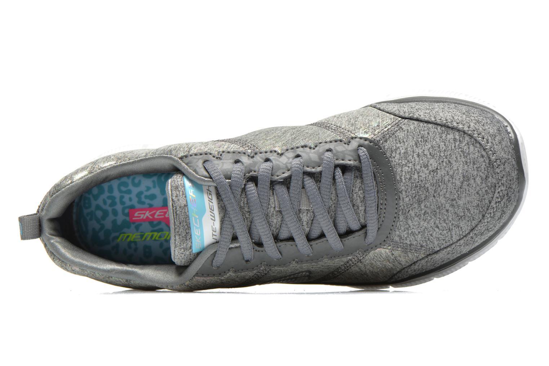 Chaussures de sport Skechers Flex Appeal Hollywood Hills 12199 Gris vue gauche