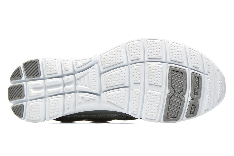 Chaussures de sport Skechers Flex Appeal Hollywood Hills 12199 Gris vue haut