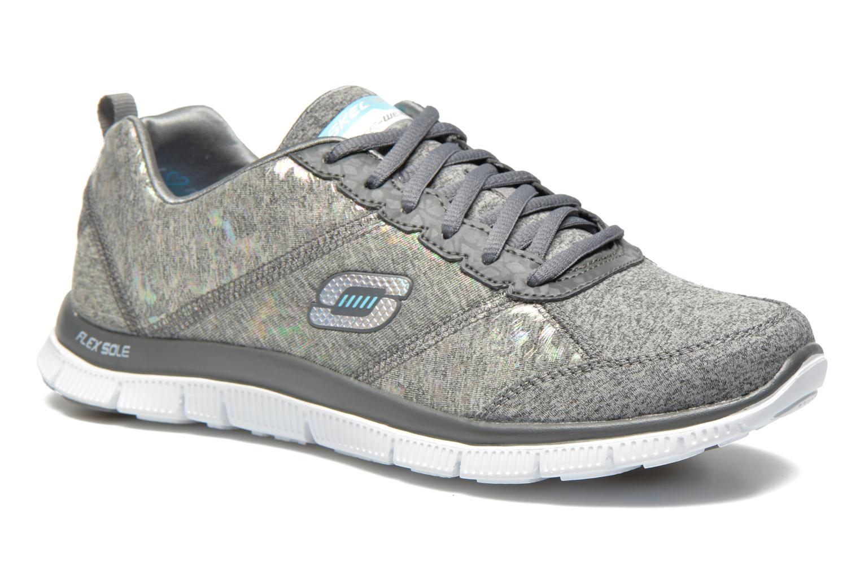 Chaussures de sport Skechers Flex Appeal Hollywood Hills 12199 Gris vue détail/paire