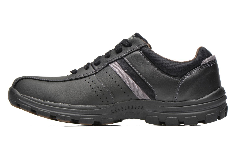 Sneakers Skechers Braver Alfano 64529 Nero immagine frontale
