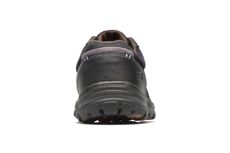 Sneakers Skechers Braver Alfano 64529 Nero immagine destra