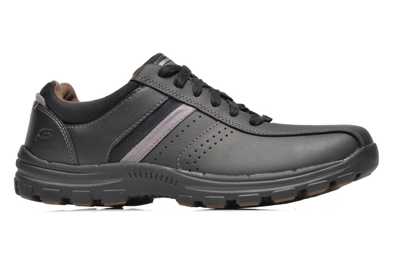 Sneaker Skechers Braver Alfano 64529 schwarz ansicht von hinten