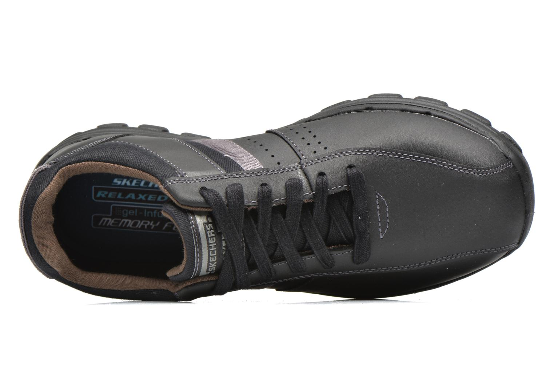 Sneakers Skechers Braver Alfano 64529 Nero immagine sinistra
