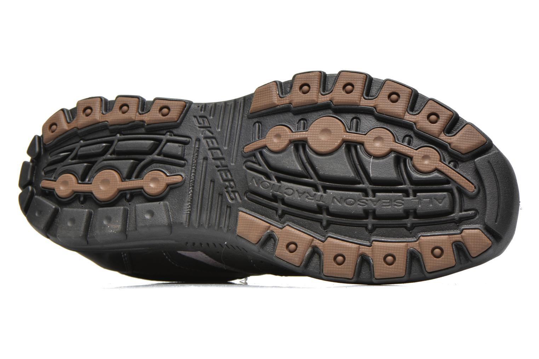 Sneakers Skechers Braver Alfano 64529 Nero immagine dall'alto