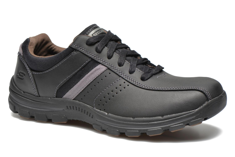 Sneaker Skechers Braver Alfano 64529 schwarz detaillierte ansicht/modell