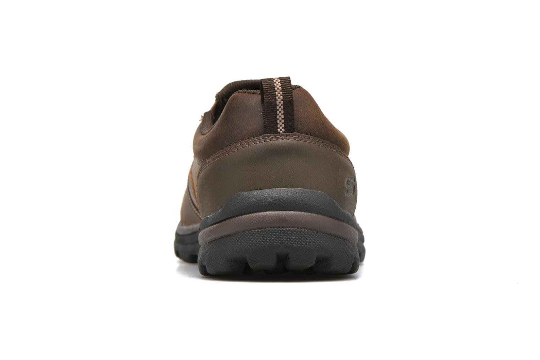 Loafers Skechers Superior Manlon 64590 Brun Bild från höger sidan
