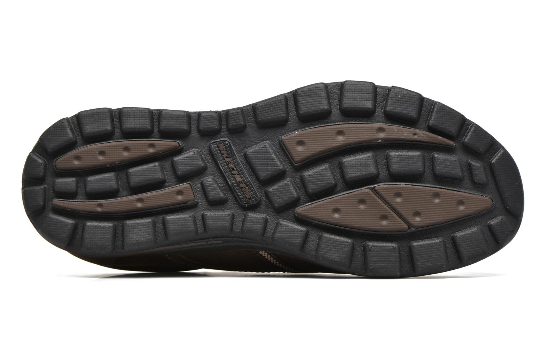 Loafers Skechers Superior Manlon 64590 Brun bild från ovan