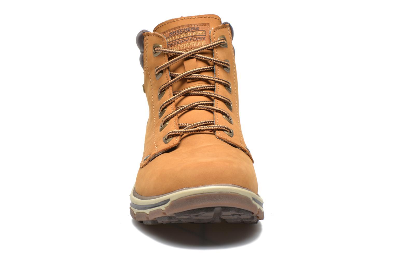 Bottines et boots Skechers Segment Amson 64593 Beige vue portées chaussures