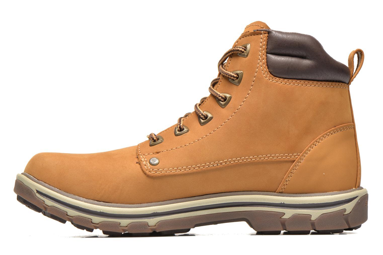 Bottines et boots Skechers Segment Amson 64593 Beige vue face