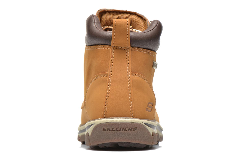 Bottines et boots Skechers Segment Amson 64593 Beige vue droite