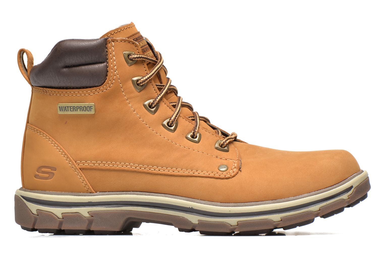 Bottines et boots Skechers Segment Amson 64593 Beige vue derrière
