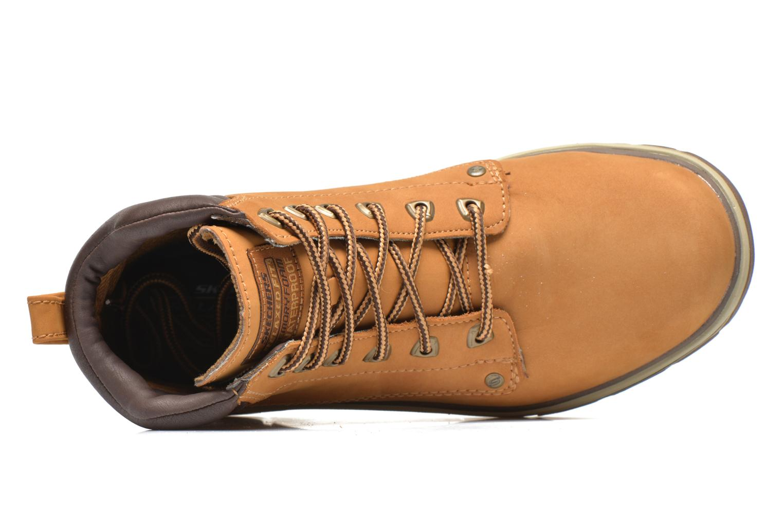 Bottines et boots Skechers Segment Amson 64593 Beige vue gauche